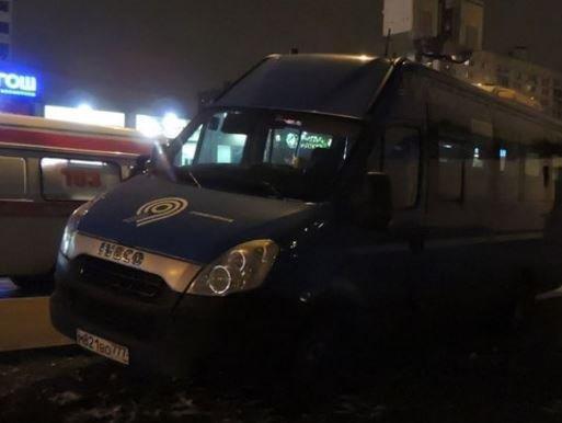 Страшное ДТП в Москве: маршрутка наехала на людей, есть жертвы »