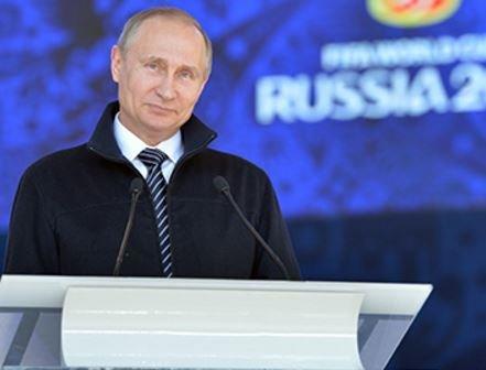 Путин обьявил свой диагноз для российского футбола »