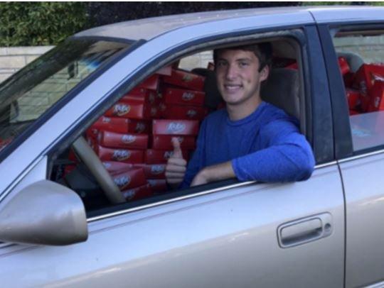 KitKat подарил американскому студенту 6,5 тыс. шоколадок из-за одной украденной »