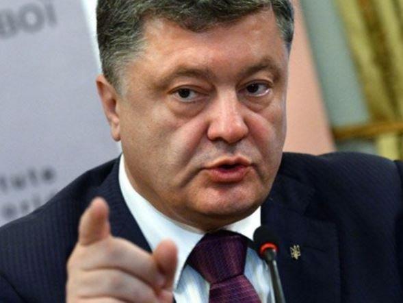 Порошенко впервые заговорил про отставку Саакашвили с поста губернатора »