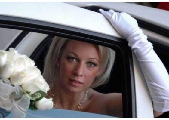 В Сети восхитились свадебным снимком Марии Захаровой »