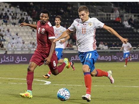 Российская сборная по футболу уступила команде Катара »