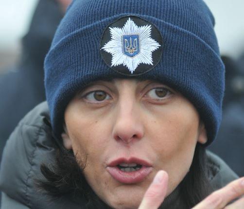 Глава Нацполиции Украины обьявила об уходе с должности »