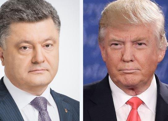 Порошенко в телефонной беседе зазывал Трампа в Украину »