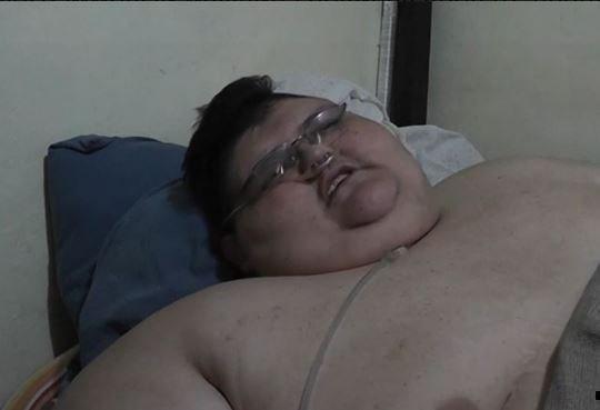 Мужчина весом в поллтоны покинул кровать впервые за 6 лет »