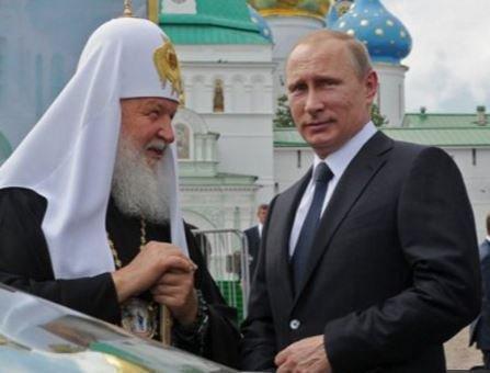 Путин признался, что ребенком его крестил отец патриарха Кирилла »