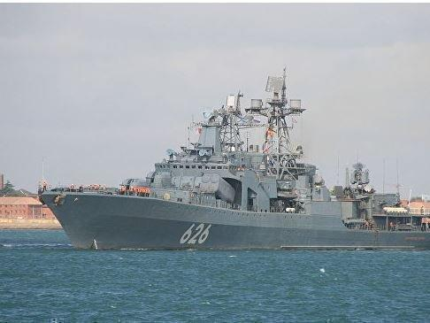 В Средиземном море корабль РФ спас экипаж украинского судна »