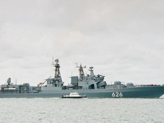 Корабль ВМФ РФ был первым, кто откликнулся на сигнал бедствия судна с украинцами »