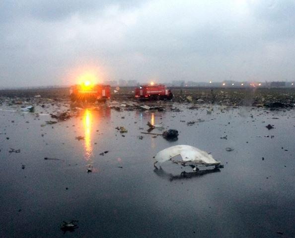 СМИ рассказали о причине падения лайнера Flydubai в Ростове »