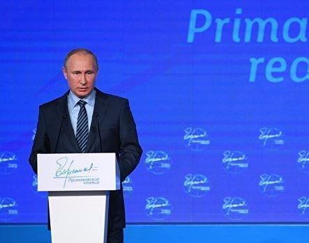 Путин поведал о недавней беседе с Трампом »