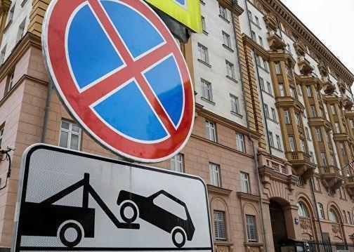 Посольство США в Москве временно не выдает визы »