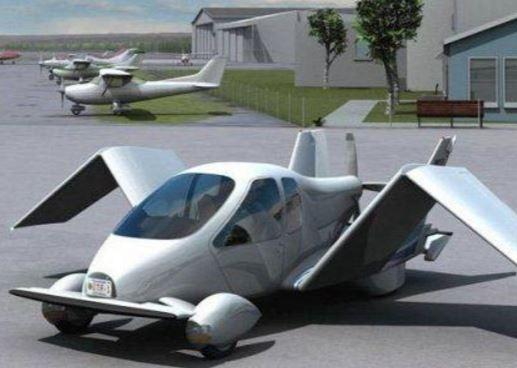 В России собираются построить «летающий автомобиль» »