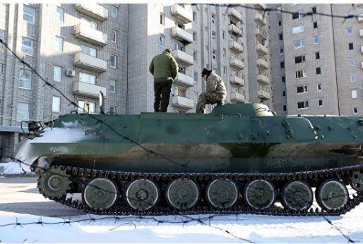 Кремль располагает данными об атаке украинцев на ополчение у Авдеевки »