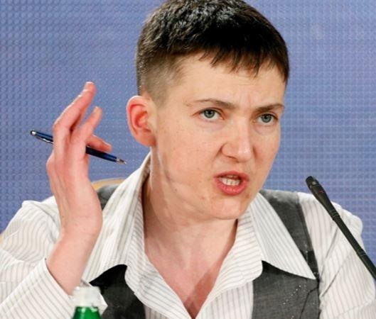 Савченко поведала о своих планах по возврату Донбасса »