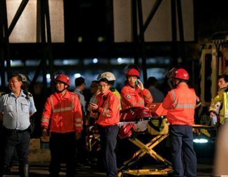 В Восточном Китае разрушились 3 жилых пятиэтажки, под обломками люди »