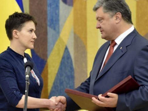 Пушков прокомментировал конфликт Порошенко и Савченко »