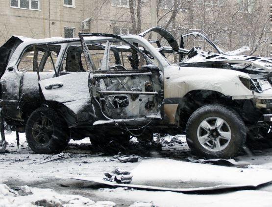 В Луганске ошиблись с количеством погибших при взрыве автомобиля »