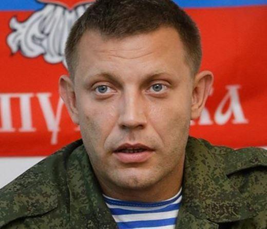 Глава ДНР оказался под обстрелом под Донецком »