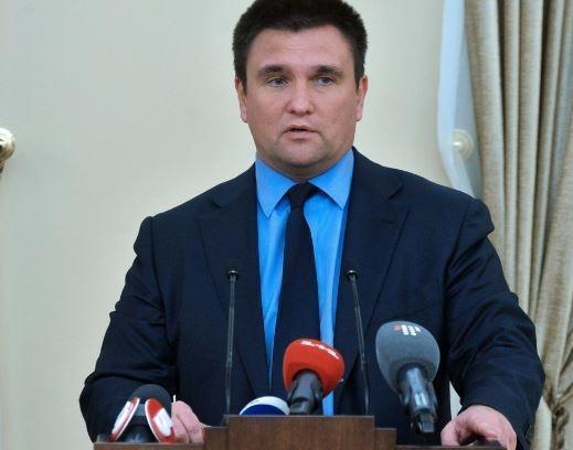Глава МИД Украины допустил введения военного положения в стране »