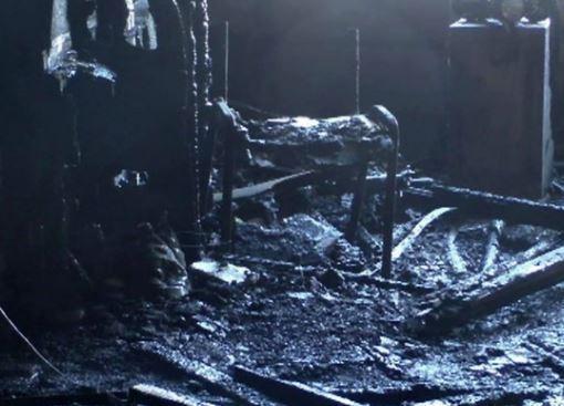 Полыхавший кабинет Гиви сумели потушить лишь 100 пожарных »