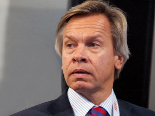 Пушков отреагировал на заявление Могерини о санкциях против РФ »