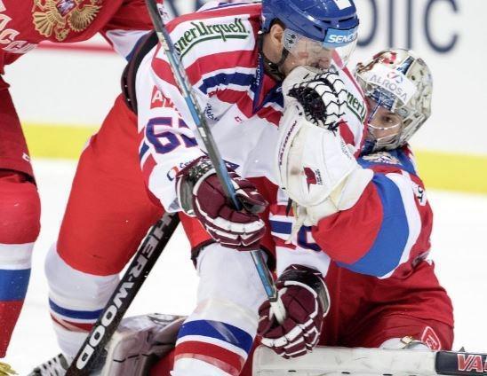 Хоккеисты российской сборной обыграли чехов в рамках Евротура »
