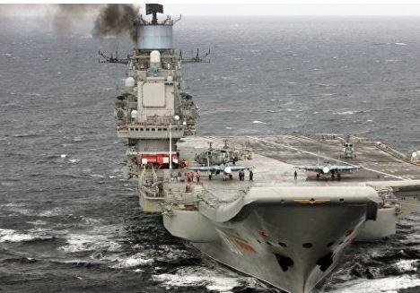 """Командир """"Адмирала Кузнецова"""" рассказал, почему крейсер дымит »"""