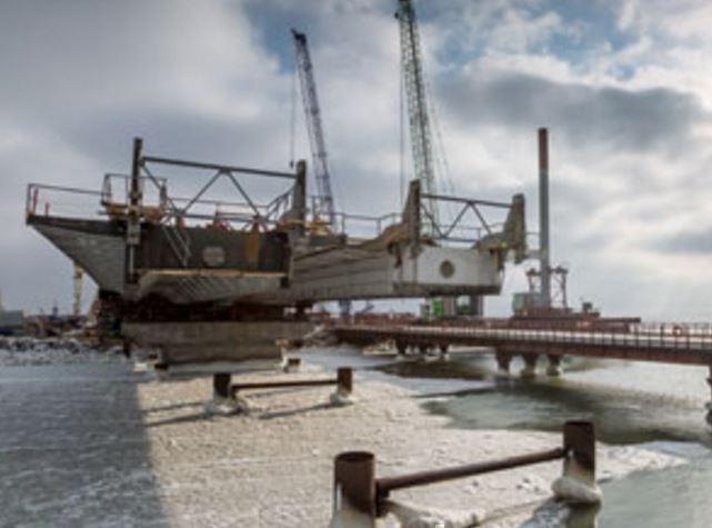 Киев в панике от скорости строительства Керченского моста »