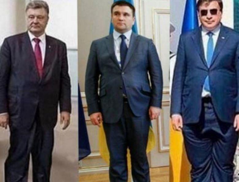 Над главой МИД Украины посмеялись за костюм не по размеру »