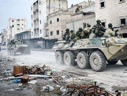 Четверо российских военных взорвались в Сирии »
