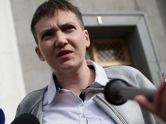 Савченко прибыла в ДНР »