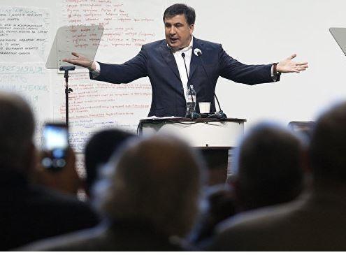"""Саакашвили захотел стать """"отцом-основателем"""" Украины »"""