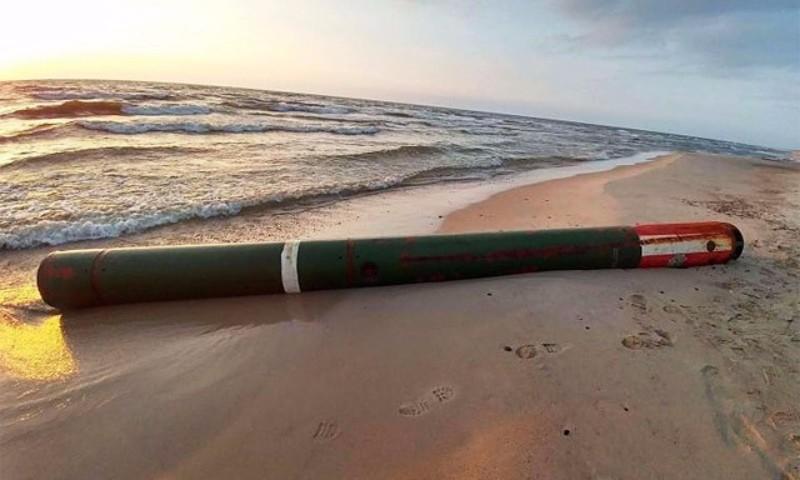 Балтийское море принесло в Литву российскую торпеду