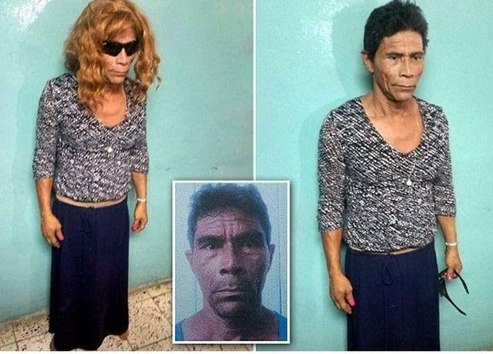 Зэк из Гондураса пытался сбежать, нарядившись женщиной