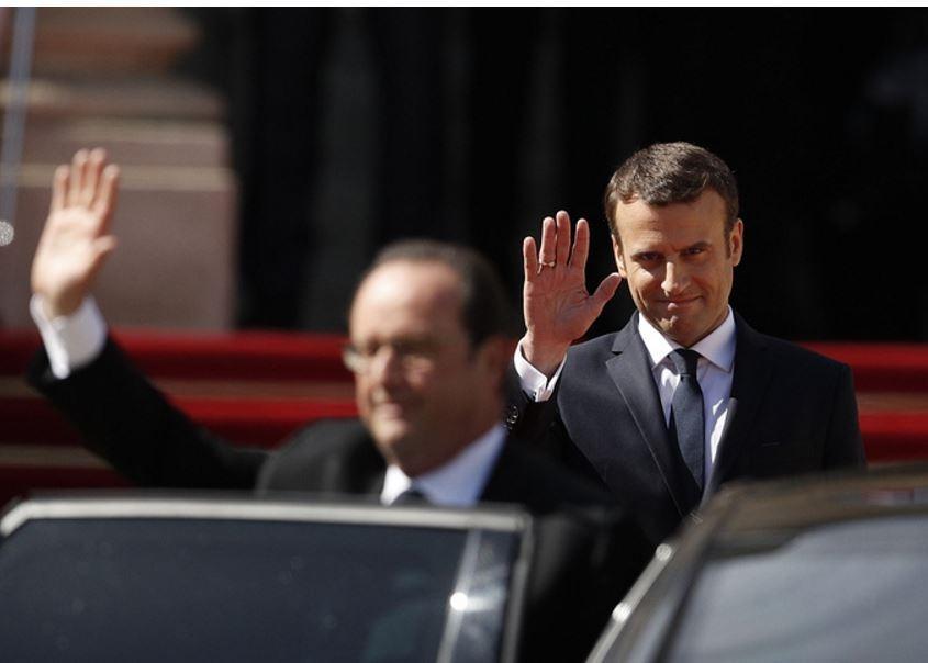 Эмманюэль Макрон официально обьявлен президентом Франции