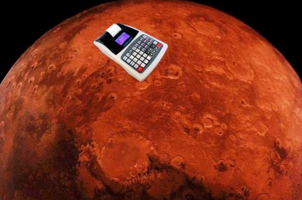 На Марсе обнаружен кассовый аппарат