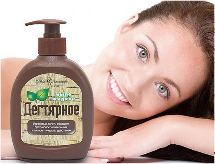 Дегтярное мыло польза и вред для кожи
