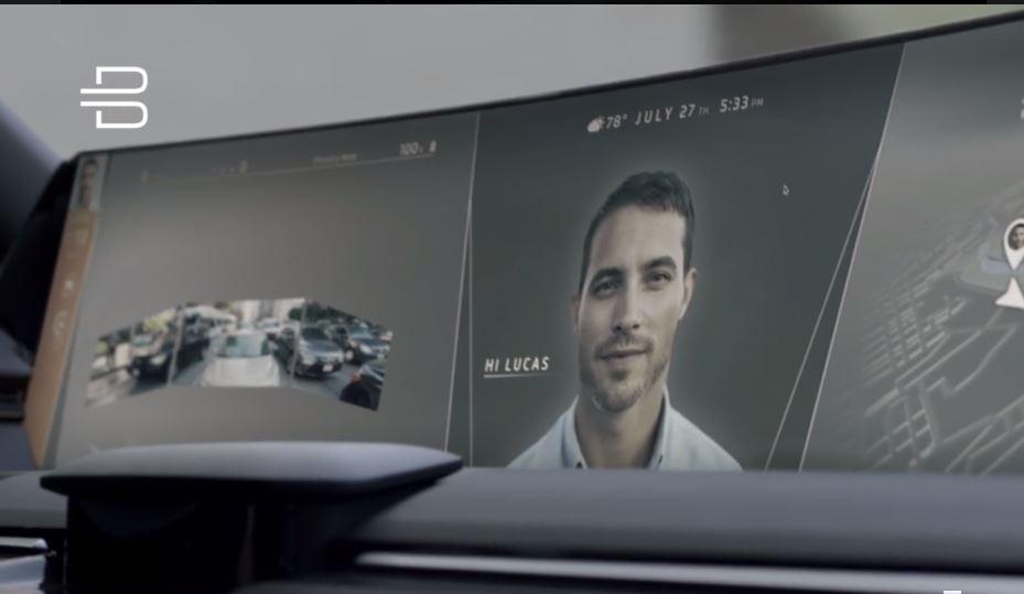 Китайцы представили кроссовер с 1,2-метровым экраном в салоне
