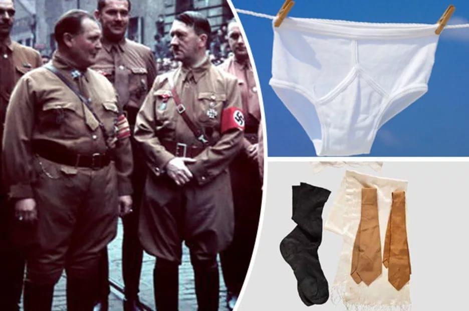 На аукционе в США продано нижнее белье Гитлера