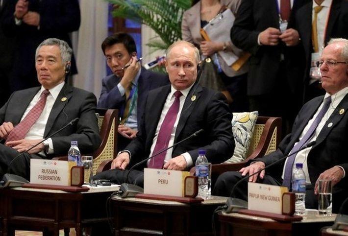Ответ на хамство, или хладнокровие разведчика Путина во Вьетнаме