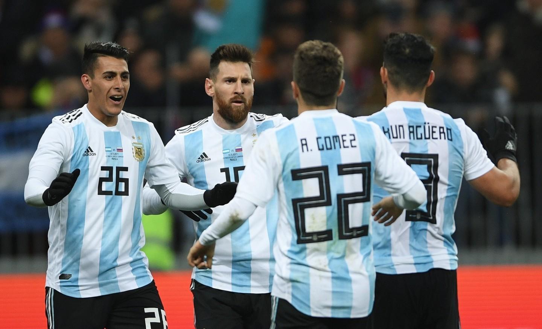 Месси не забил, но победил. Сборная Аргентина в Москве обыграла россиян