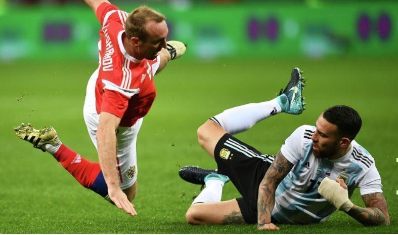 Футболист сборной Аргентины по футболу оказался в больнице после матча с россиянами