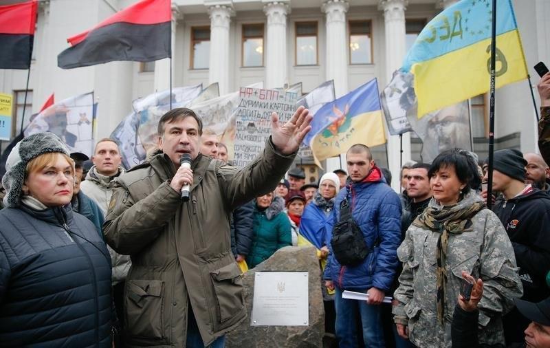 Саакашвили хочет перевернуть сознание на Украине
