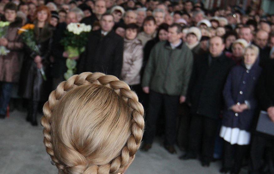 Автор прически Тимошенко признался, зачем ей понадобилась коса