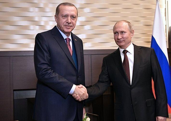 В Сочи прошла встреча Путина и Эрдогана