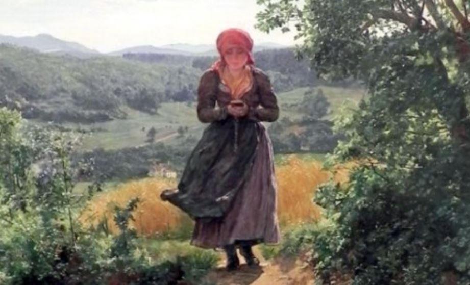 На картине 1860 года разглядели девушку с айфоном
