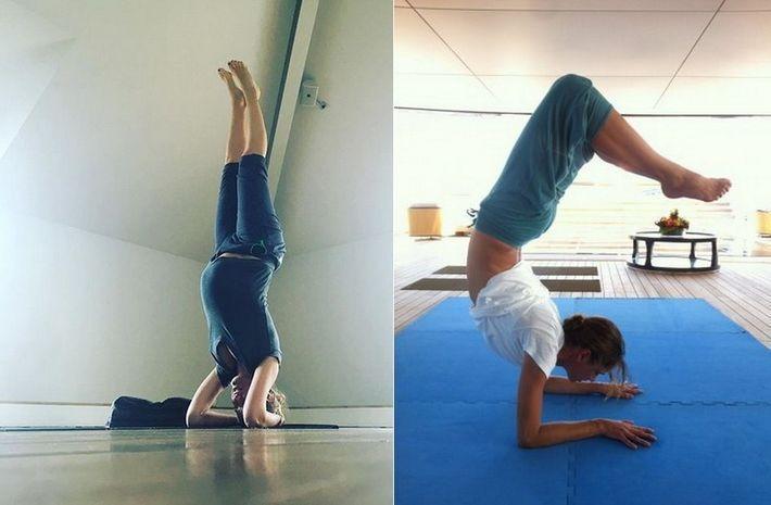 10 знаменитостей, практикующих йогу