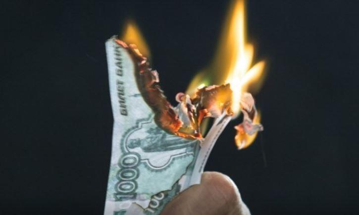 За 16 лет рубль обесценился почти в 100 тысяч раз