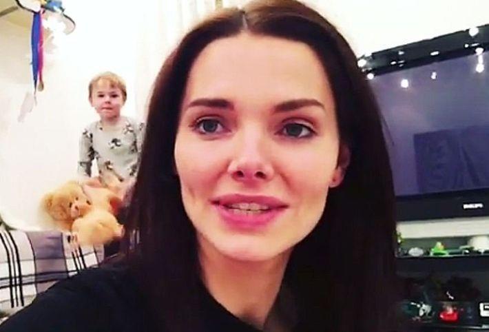 Елизавета Боярская впервые показала своего 5-летнего сына