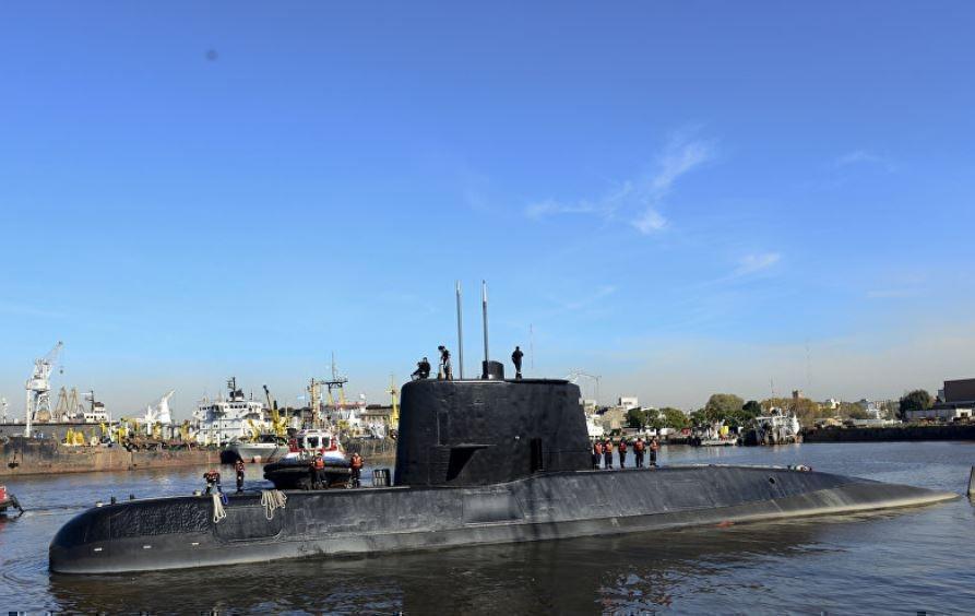 Потерянная подлодка ВМС Аргентины отправила 7 сигналов